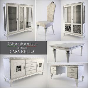 3d furniture room model