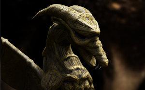 model dragon character