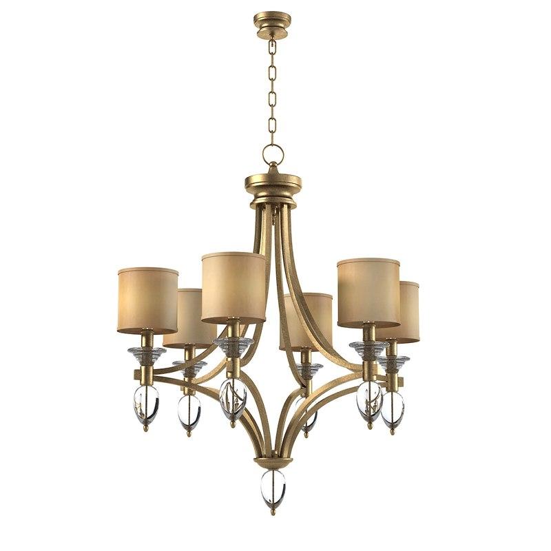 3d model currey sebastian chandeliner