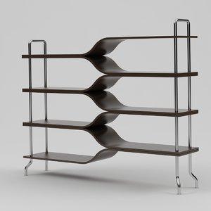 max diapason bookcase shelves