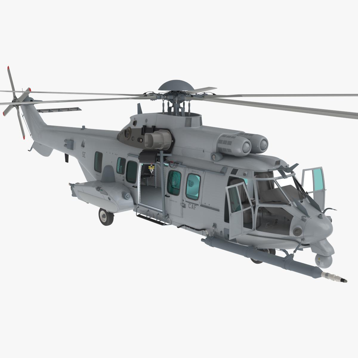 3ds max eurocopter ec725 caracal tactical