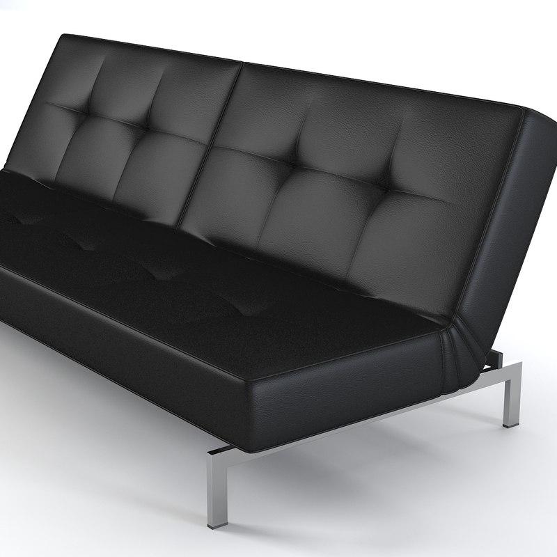 3d Model Innovation Splitback Sofa