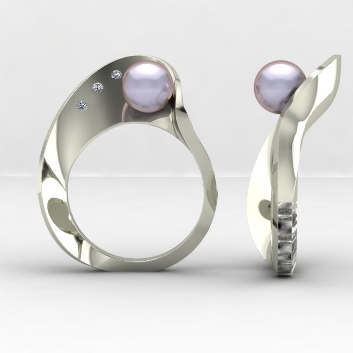 fashion mobius ring 3ds