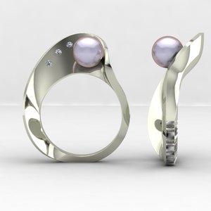 fashion mobius ring 3ds