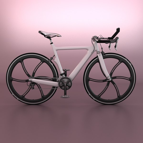 triathlon bicycle 3d max