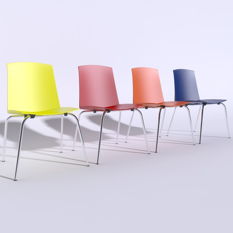 chair pully 3d model