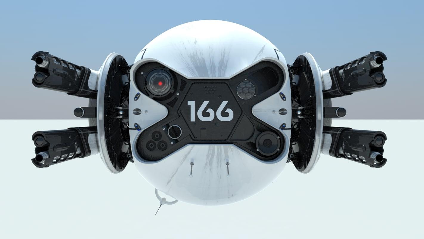 3d drone oblivion