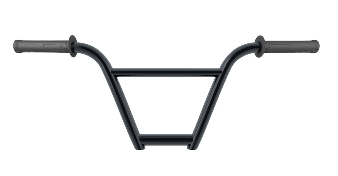 bmx handlebars grips 3d model