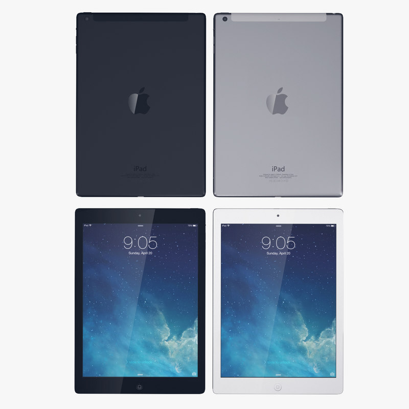 3d apple ipad air wifi
