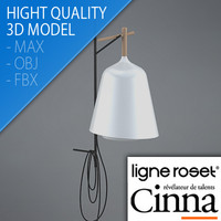 floor table lamp sous 3d model