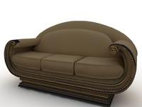 classic sofa obj free
