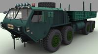 3d hemtt a4 m985 cargo truck