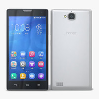 huawei honor 3c 4g 3d model