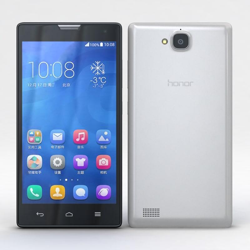 huawei honor 3c 4g 3d model