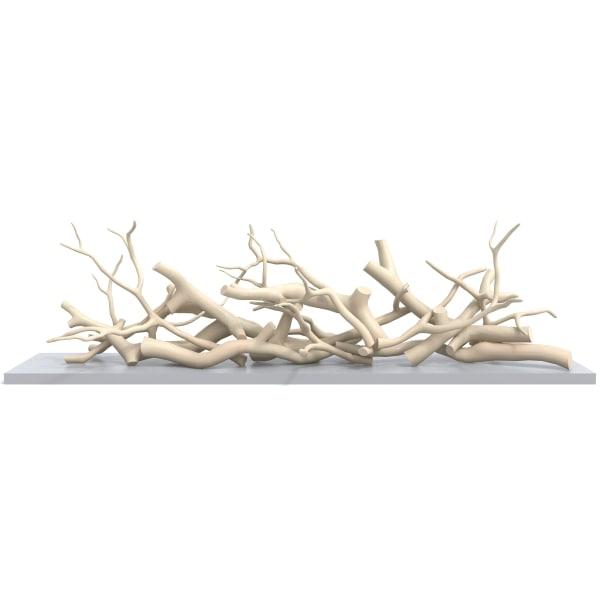 3d model dekorative instalation