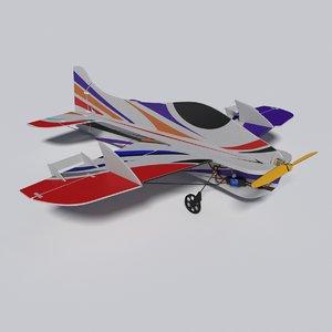 3ds max radiocontrolled aeroplane