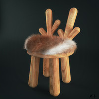 max chair hair fur