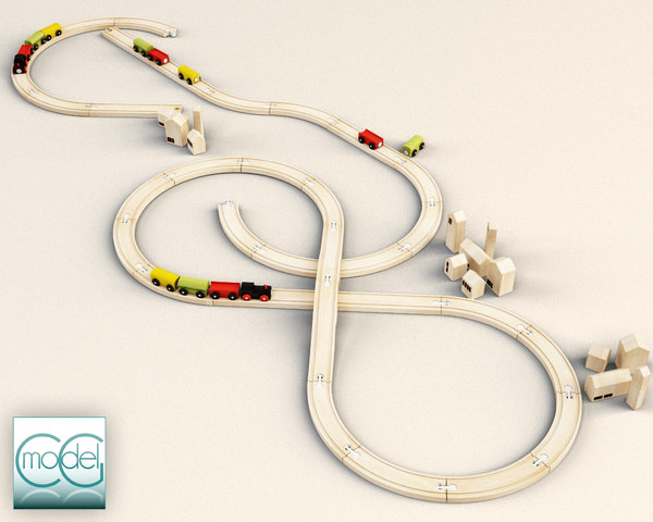 3d model train ikea