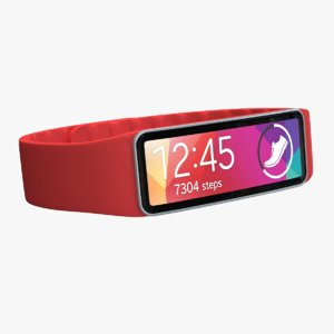 samsung gear fit red 3ds