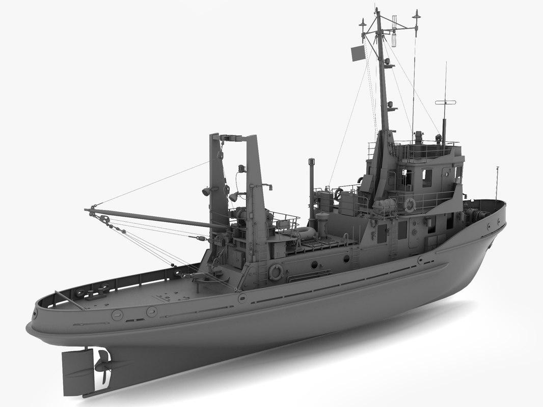 3d model ship 1