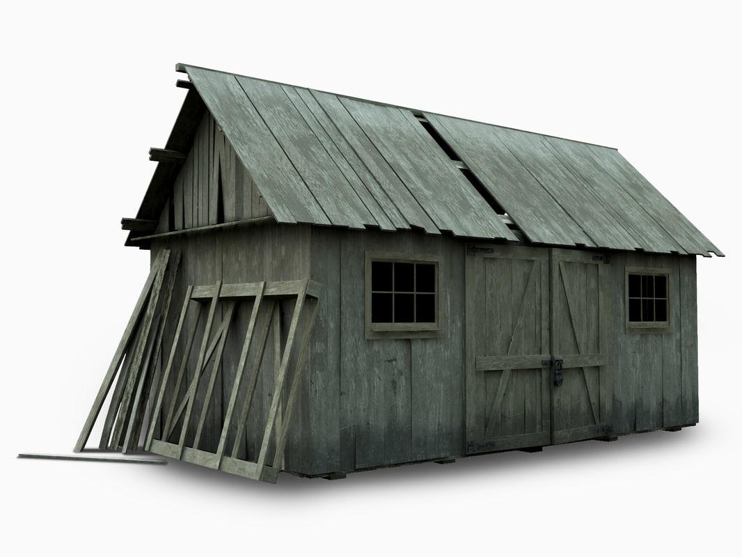 3ds barn house