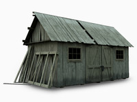 3ds barn house