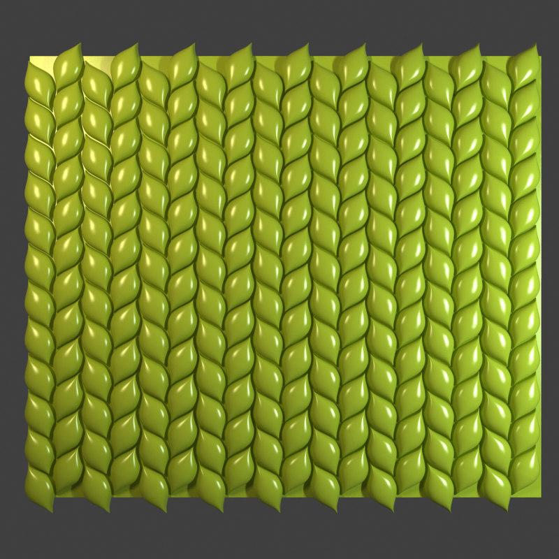 3d wall tiles model
