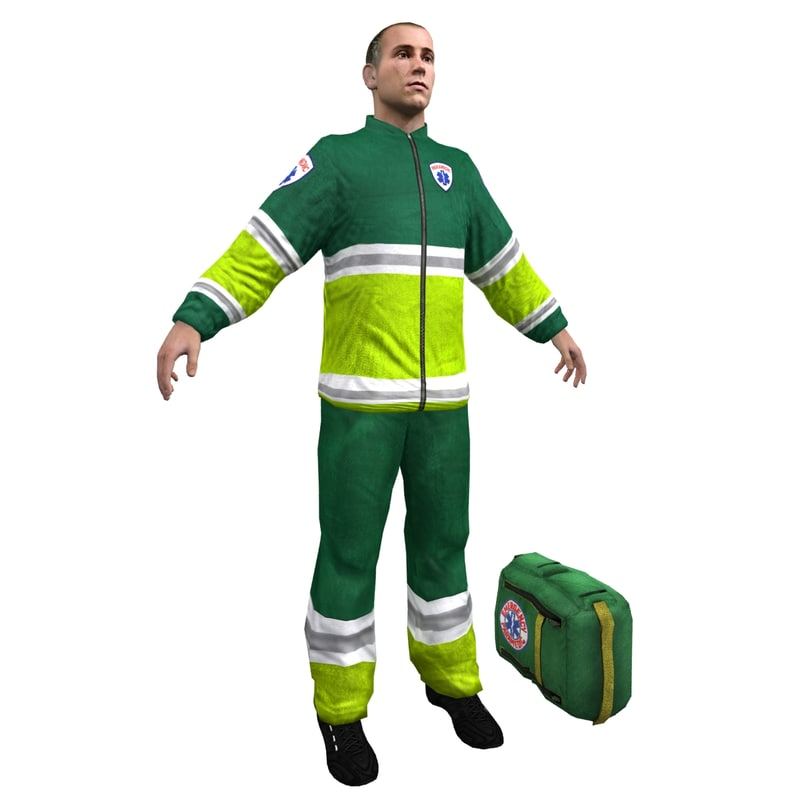 max paramedic human man