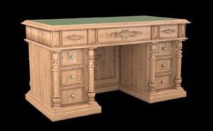 set classical antiquarian room 3d max