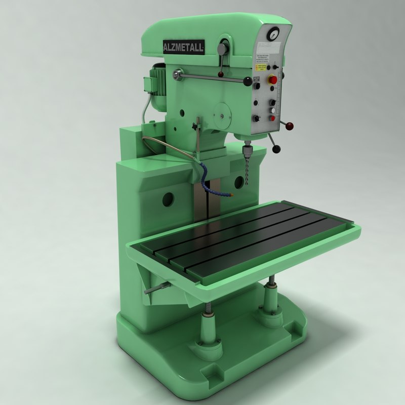 power press 3d model