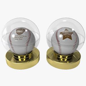 max gift dad baseball balls