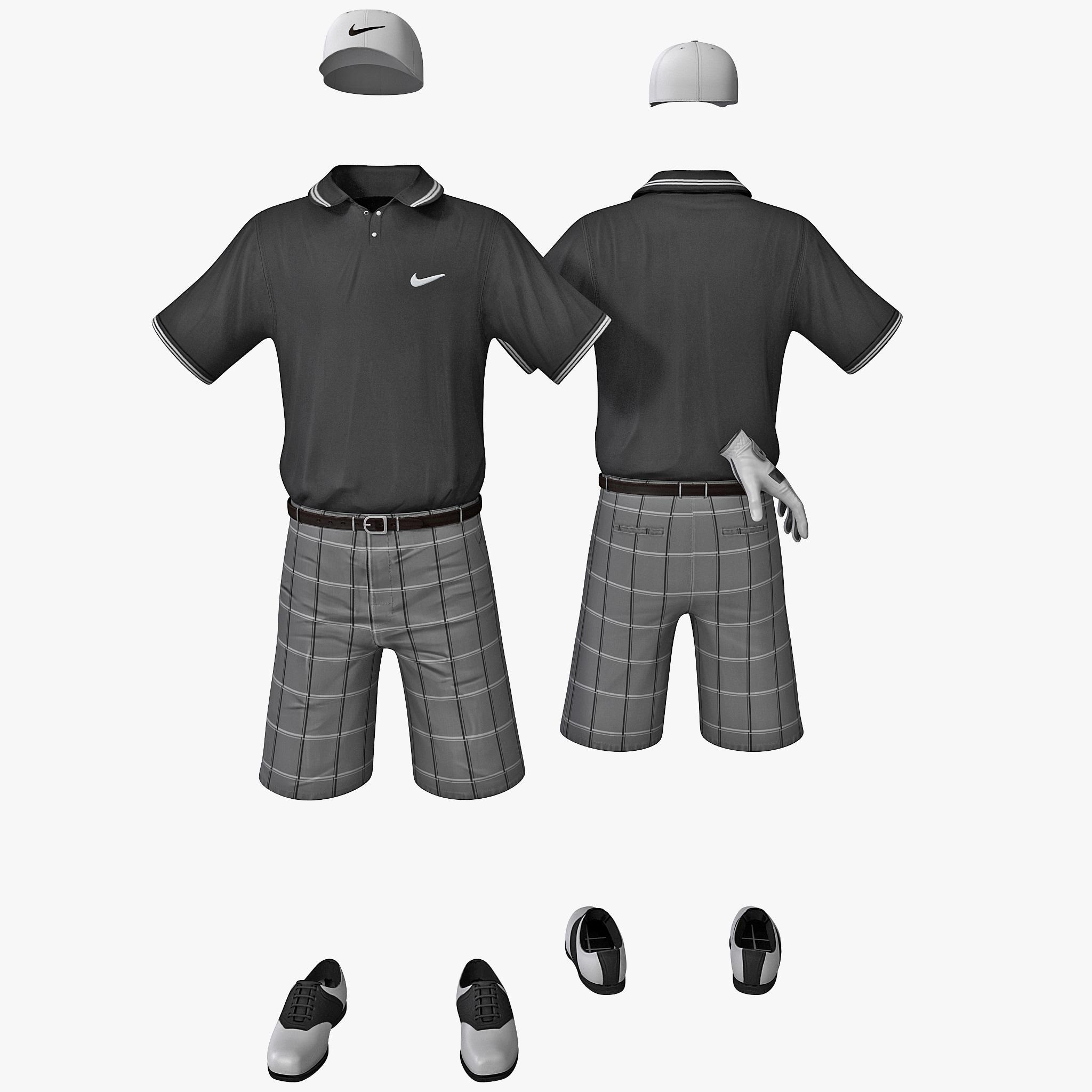 golf clothes 3d 3ds