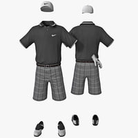 golf clothes 3d 3ds