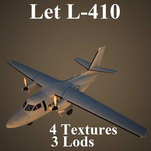 let turbolet low-poly 3d model