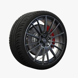 nitro xero wheel 3d ma