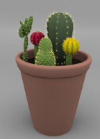 3dsmax cactus plant