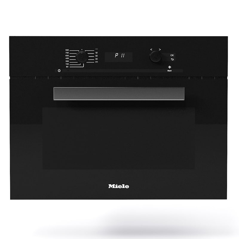 3d miele microwave oven