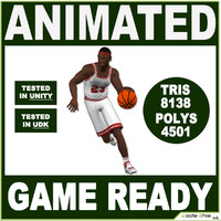 Black Basketball Player 8138 tris