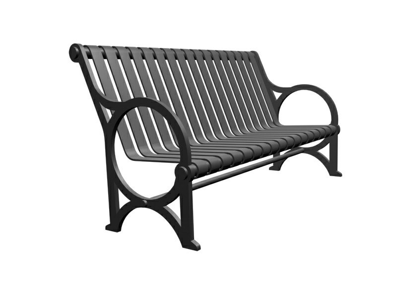 3d model transit buy bench