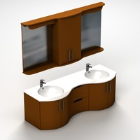 bathroom sink 3d 3ds