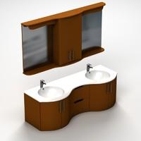bathroom sink 3d 3ds