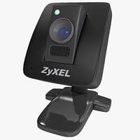 wireless camera zyxel n 3d model