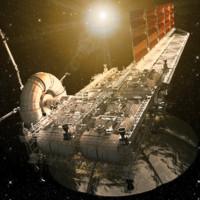 Asteroid Mining Platform (Sci-Fi)