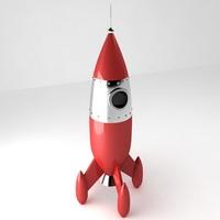 Retro Rocket 1