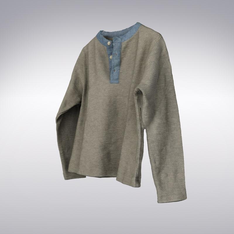 3d men s sweater
