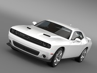dodge challenger lc 2015 3d 3ds