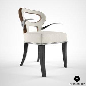 promemoria dining chair 3d max