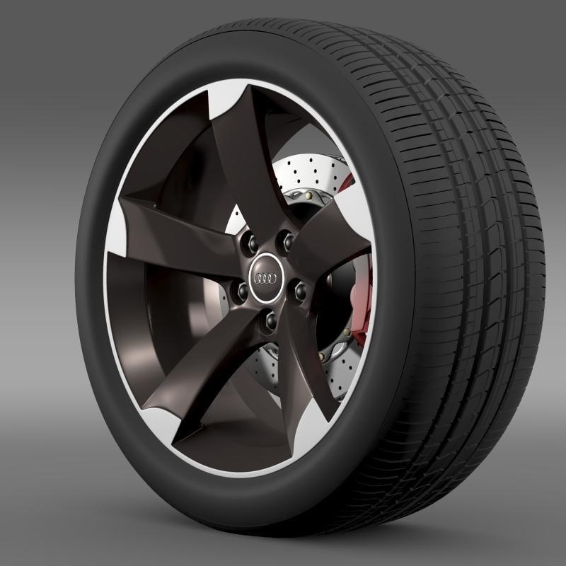 max audi r8 spyder wheel