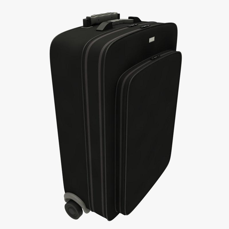 3d max suitcase baggage bag