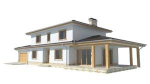 z74 house 3d model